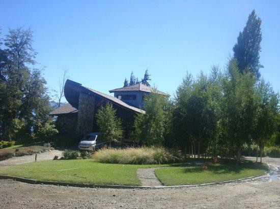 Design Suites Bariloche: Vista entrada
