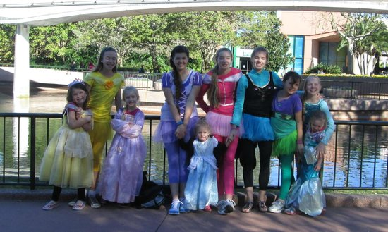 Epcot: Some of my favorite princesses