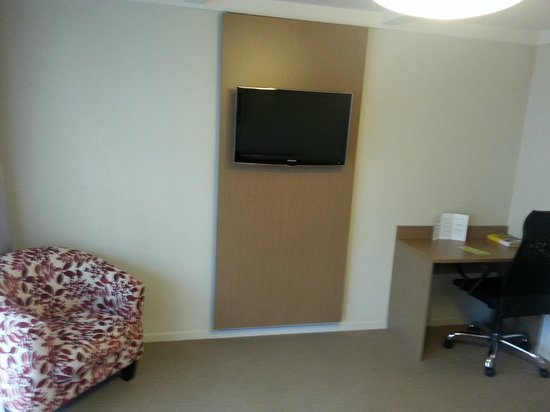 Lake Rotorua Hotel : Lounge, nice TV