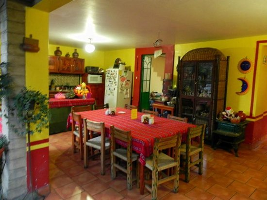 La Casa del Retono: Breakfast area