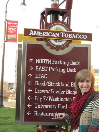 DPAC - Durham Performing Arts Center: Tobacco District