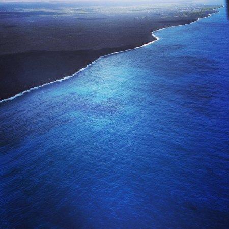 Blue Hawaiian Helicopters - Hilo : Beautiful coastline