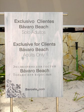 Barcelo Bavaro Beach - Adults Only: ¿Idiomas?