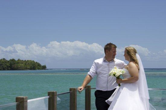 Warwick Le Lagon - Vanuatu: Wild Ginger Deck and lagoon