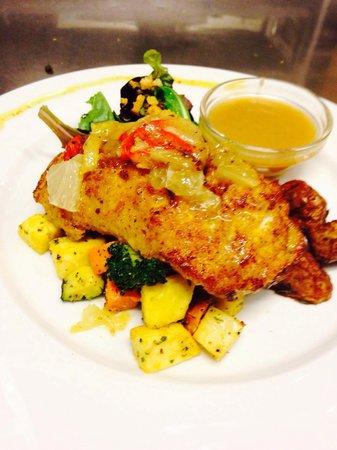 Lauga-as: Lime & Chilli fish :) yummmy