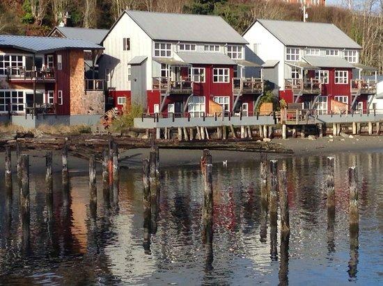 Taken from the dock in front of the Boatyard inn