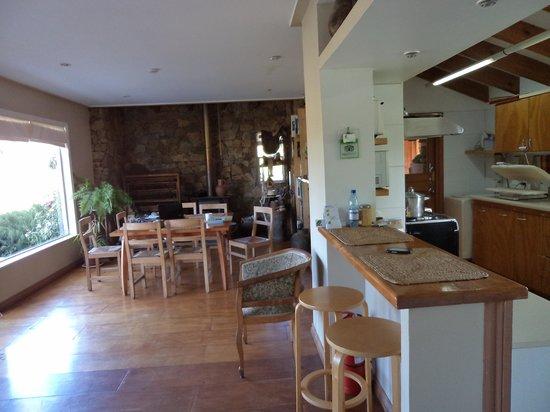 Los Maquis Hotel: vista de la sala de desayuno