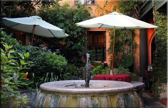 Cafe Condesa: one of the patio