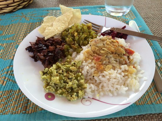 Emerald Isle - The Heritage Villa : Delicious Lunch