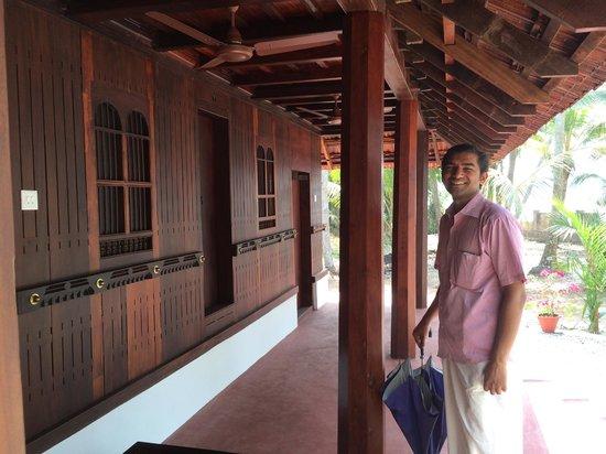 Emerald Isle - The Heritage Villa: Verandah in front with doors to historic rooms
