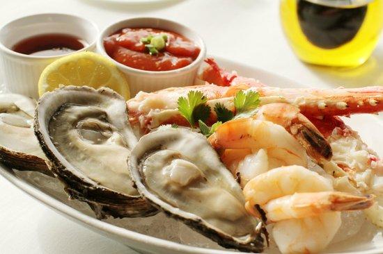 Coba at Viceroy Anguilla: Seafood sampler