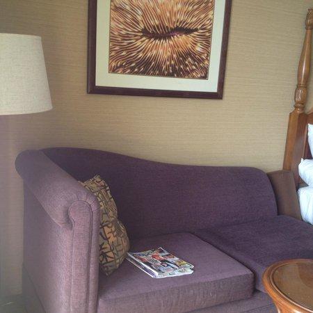 Outrigger Reef Waikiki Beach Resort: Nice lounge