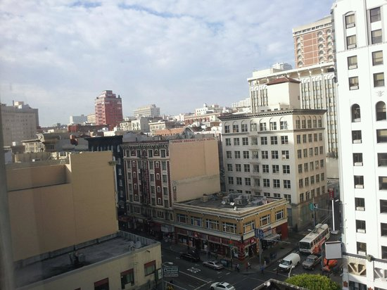 King George Hotel - A Greystone Hotel: View from our window at the King George