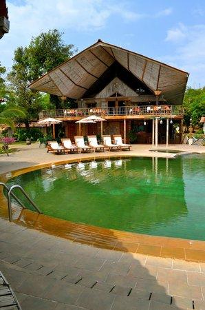 Hacienda del Mar: The hotel restaurant