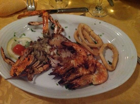 Labranda Tower Bay: la cena di pesce