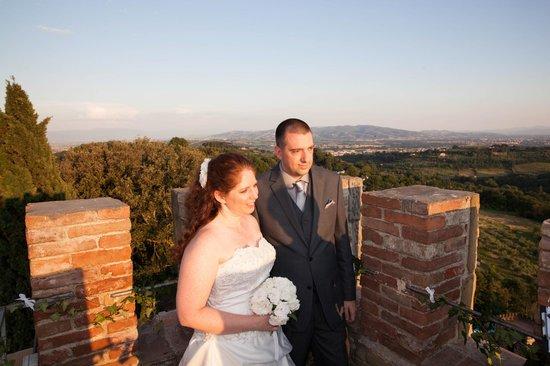 Castello di Monterone: Vows at the top of the Castle