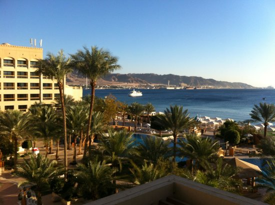 InterContinental Aqaba Resort: View from my room - breath taking.