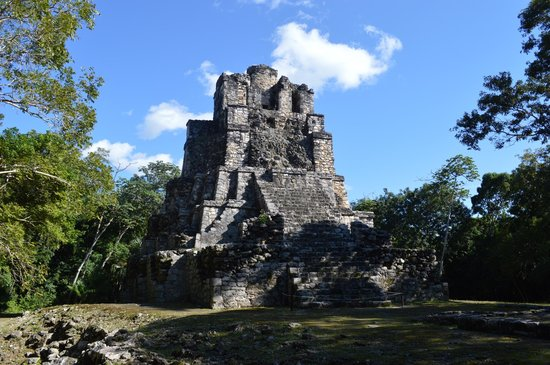 castillo maya picture of mexico kan tours day tours tulum