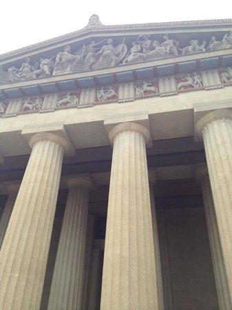 The Parthenon : Parthenon, view from below