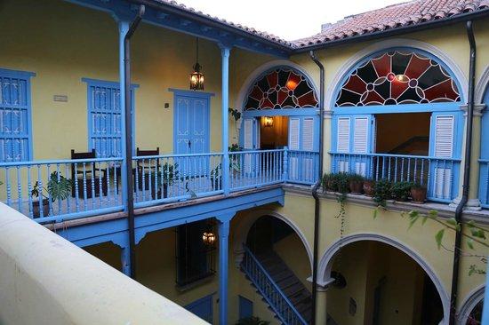 Hotel Beltran de Santa Cruz: Rooms on top level