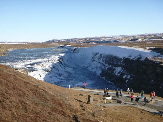Gullfoss from upper level