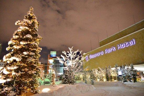 Sapporo Park Hotel : Beautiful night