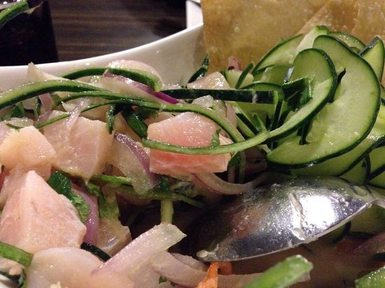 Kobu Restaurant: Ceviche mixto, de lujo