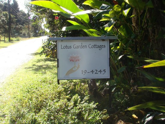 Lotus Garden Cottages: you are here