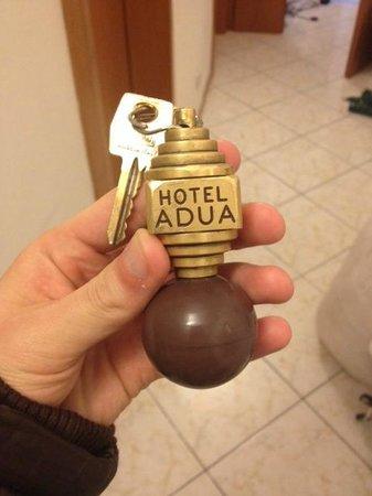 Hotel Adua: 大きな鍵
