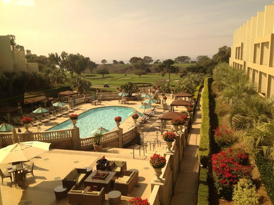Hilton La Jolla Torrey Pines : View from the lobby