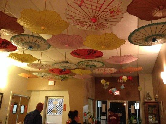 Hilo Rice Noodles Soup : Ceiling decorations