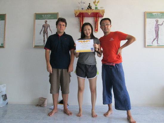 Suai Thai Massage Center: Thai massage certificate in Phuket 2