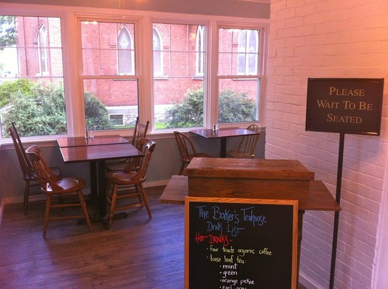 The Baker's Teahouse: in the dining room
