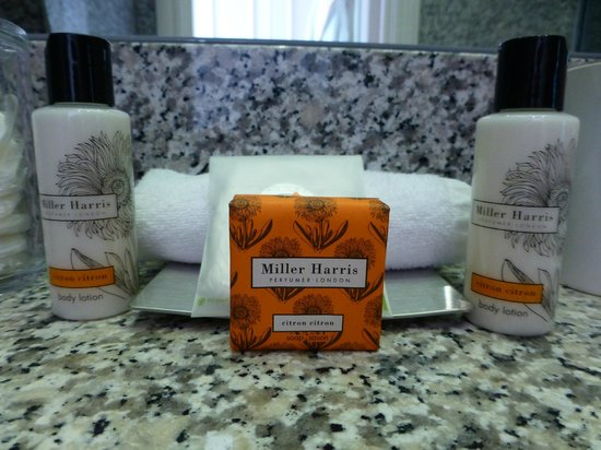 Number Sixteen: Lovely Toiletries