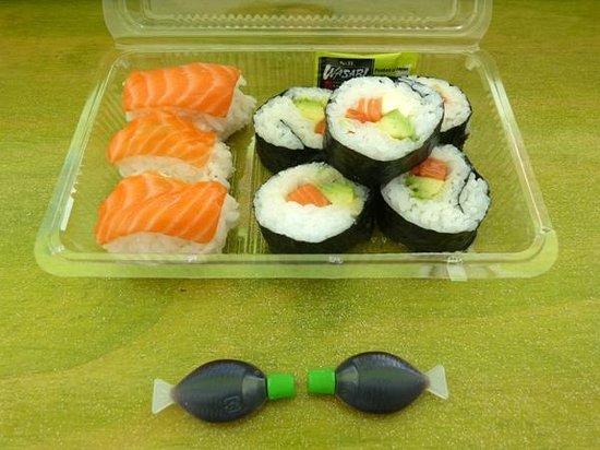 Sakim Bento Sushi Kaikoura: $10 sushi box