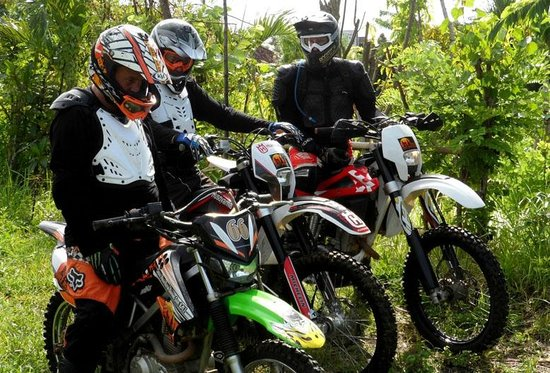 Bali Wilderness Dirt Bike - Day Tours: About to go for Bali Mountains Dirt Bike Tour