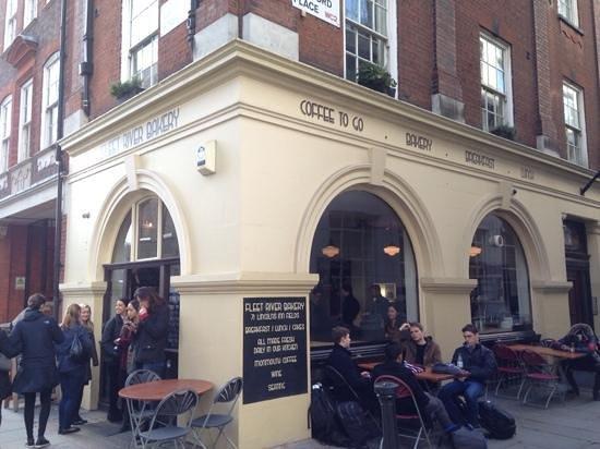 Fleet River Bakery: Great Find, Good Coffee