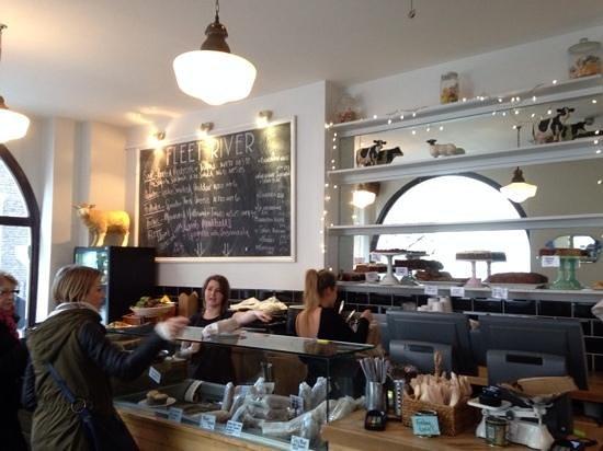 Fleet River Bakery: A Welcoming Interior
