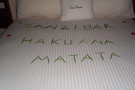 DoubleTree by Hilton Resort Zanzibar - Nungwi : petit message quotidien