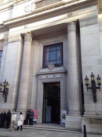 Freemasons' Hall: Imposing Entrance