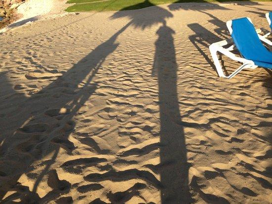 El Cid Castilla Beach Hotel: sand