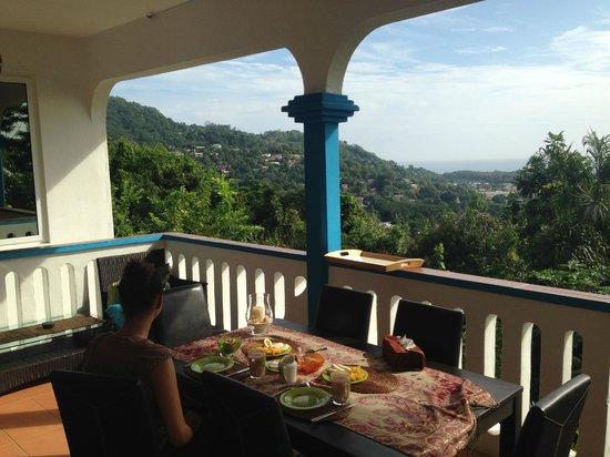 Villa Citronella: Dining area