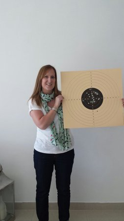 Caracal Shooting Club: Not bad for my first time!