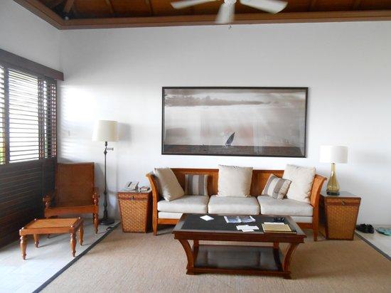 The Residence Zanzibar: le salon