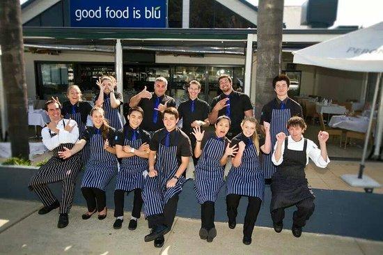 Blu grill staff!
