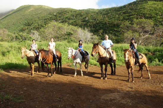 Lahaina Stables: Top of the Ride