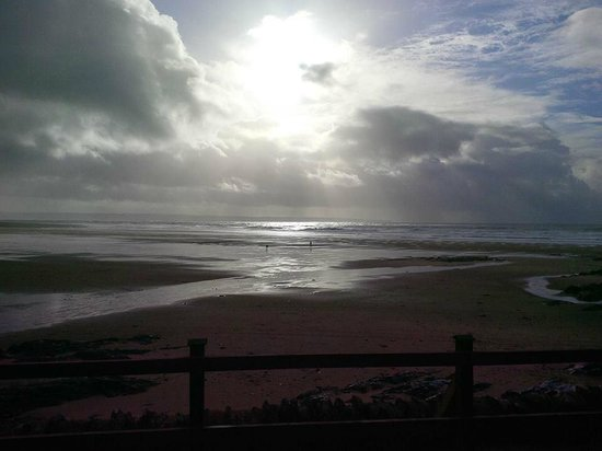 Croyde Bay Holidays: View from our room