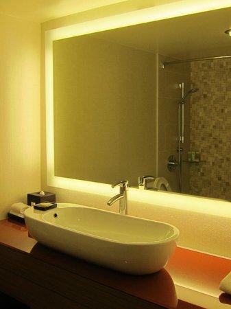 Grand Hyatt San Francisco : Bathroom mirror