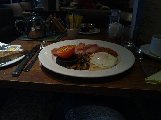 BEST WESTERN Motherwell Centre Moorings Hotel : breakfast