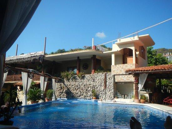 Hotel Villas Las Azucenas: Pool